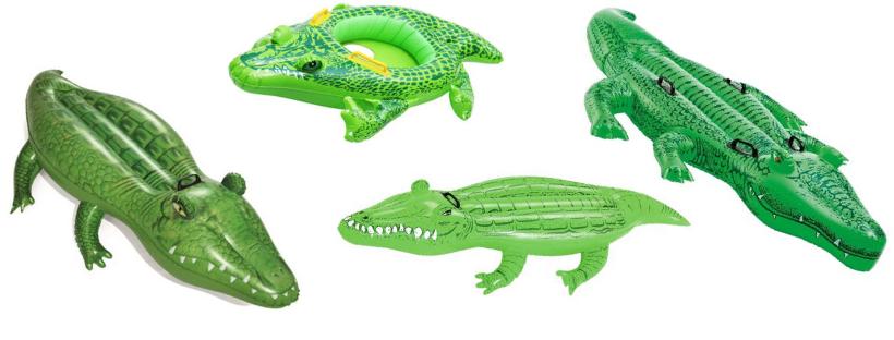 Krokodille badedyr